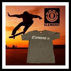 Old School Gray Element T-shirt